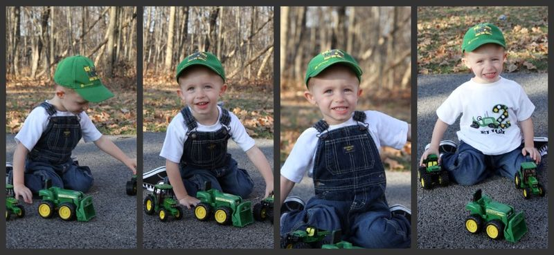 E and the tractors